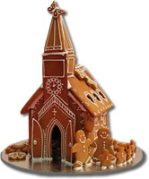 A Gingerbread Church