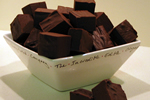 Gorgeous Chocolate Truffle Fudge Squares