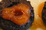 Sticky toffee pear gingerbread pudding